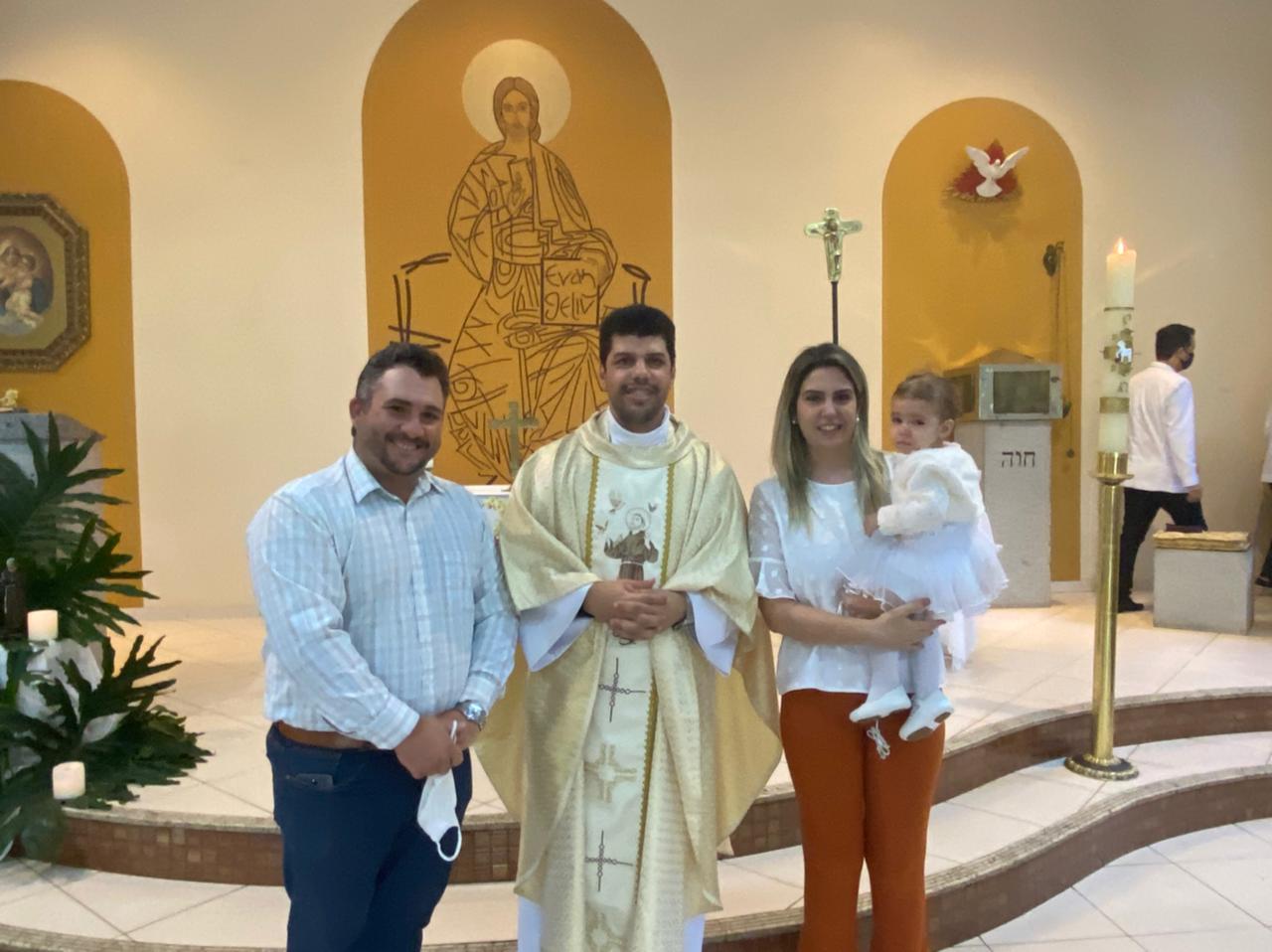 O batizado de Sofia