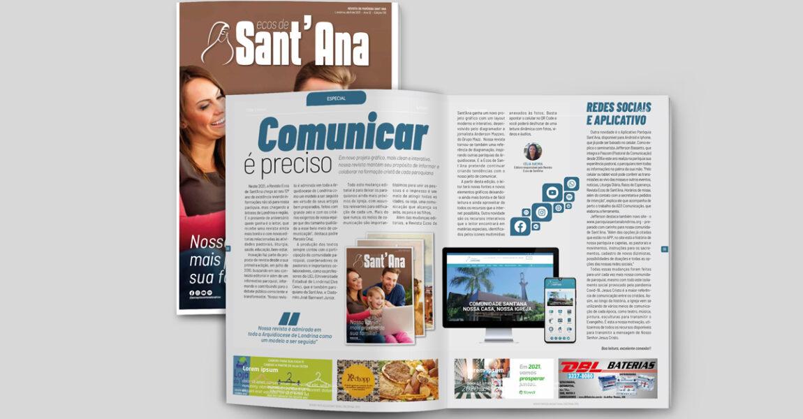 Leia a Revista Ecos de Sant'Ana de Abril