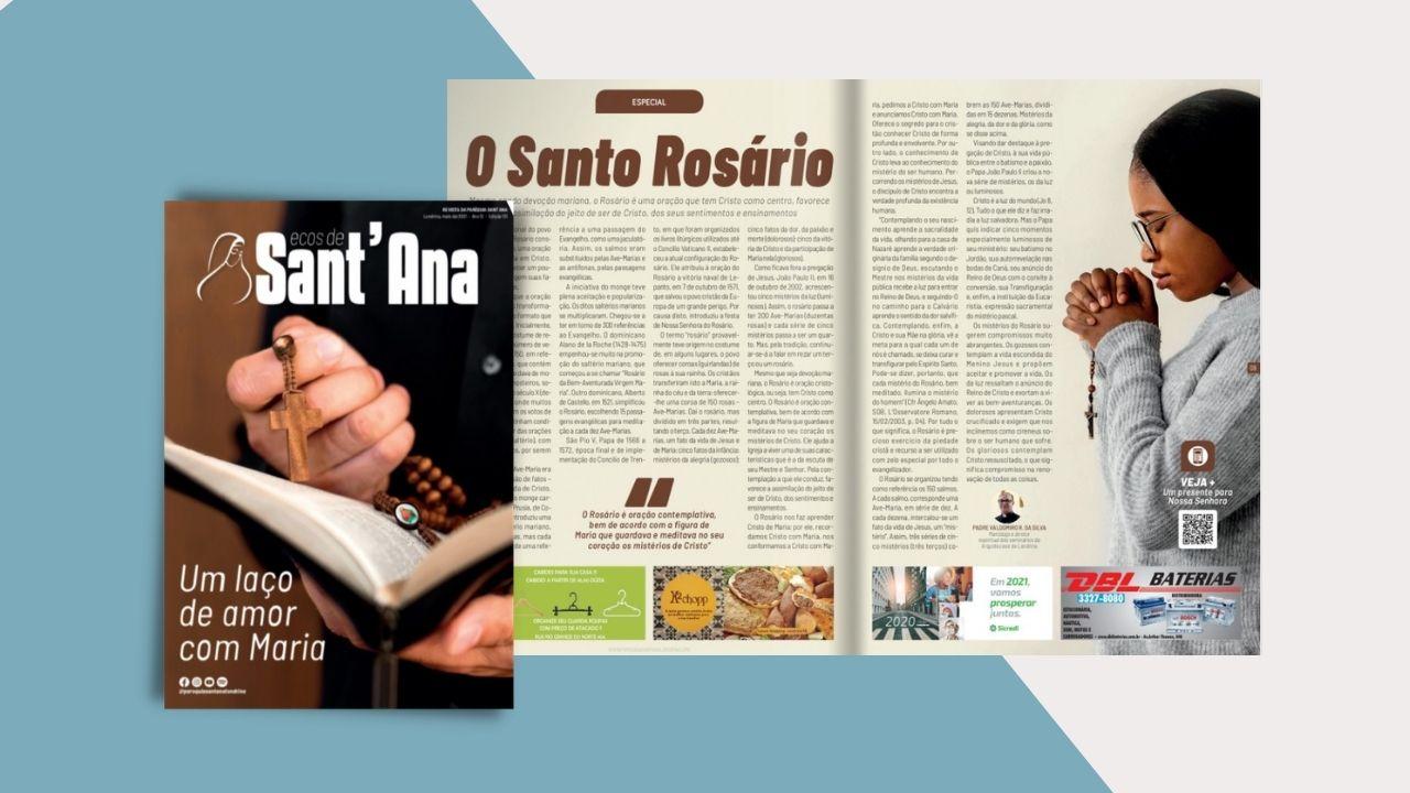Leia a Revista Ecos de Sant'Ana de Maio!