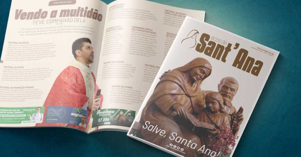 A revista de Julho está disponível!