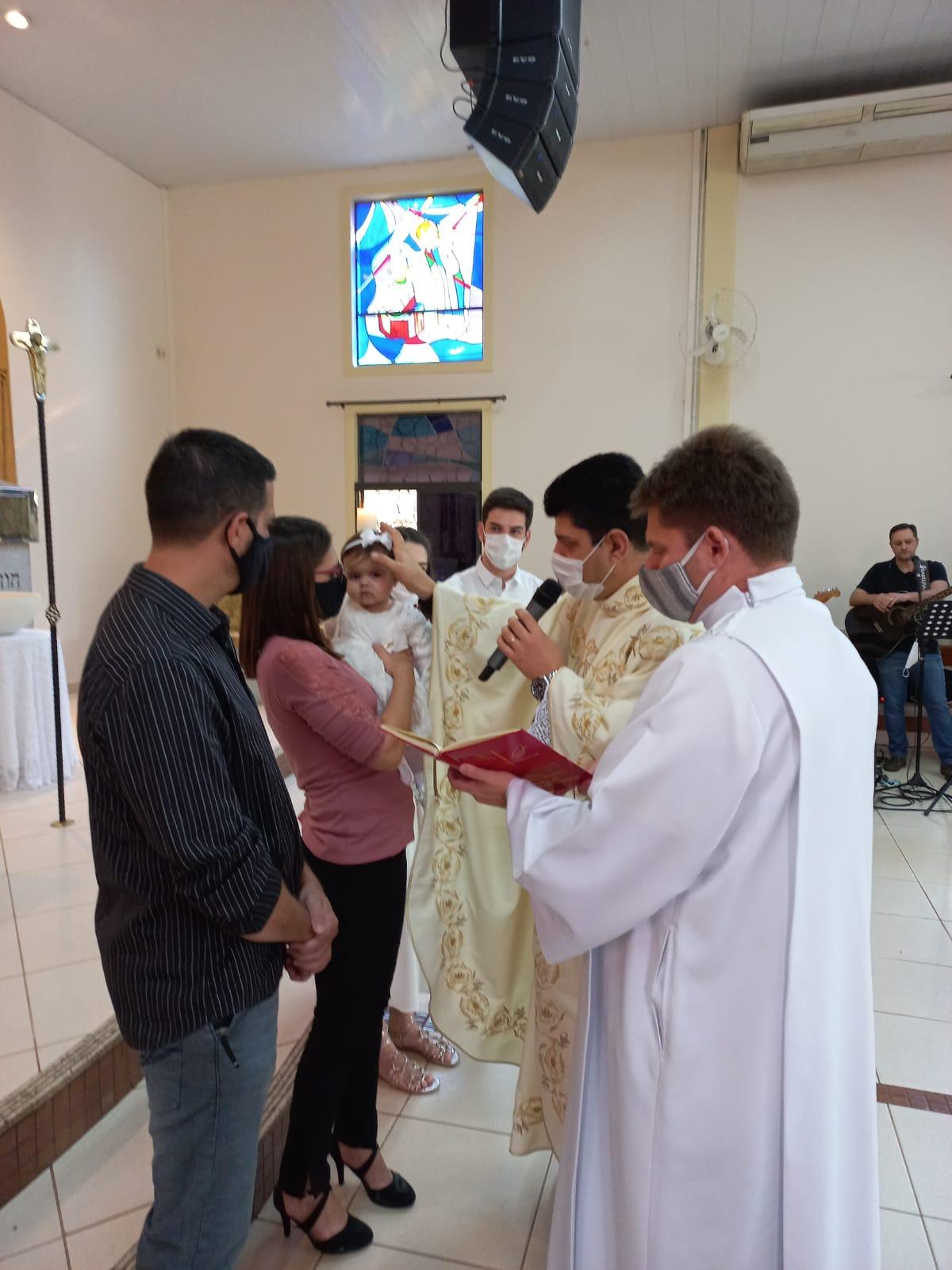 Batizado Lívia