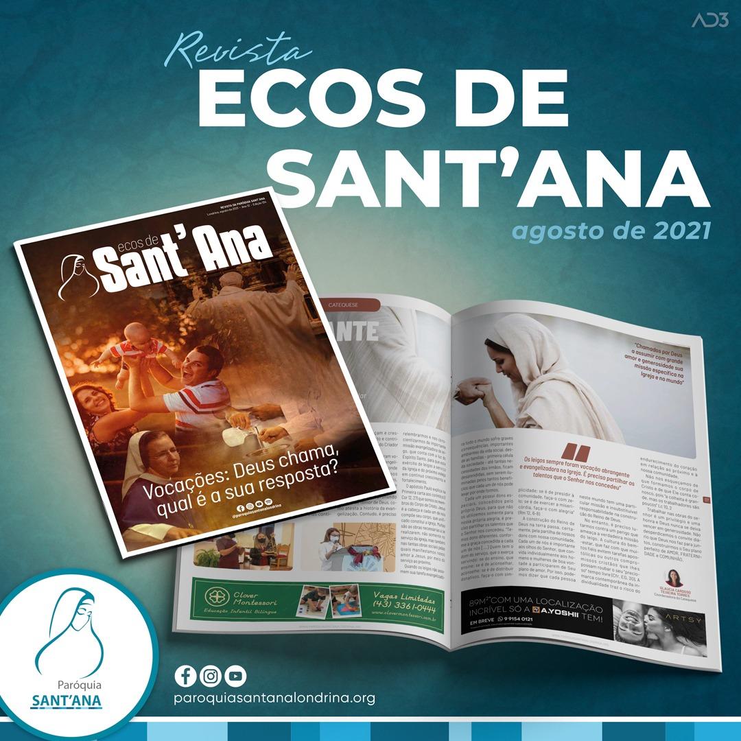 Revista Ecos de Sant'Ana - Edição Agosto