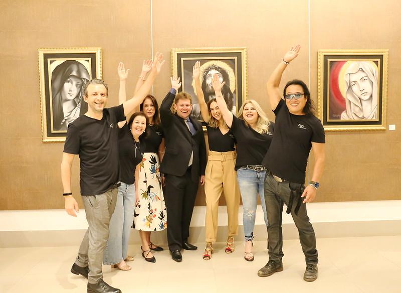 Vernissage - Inauguração da exposição de artes