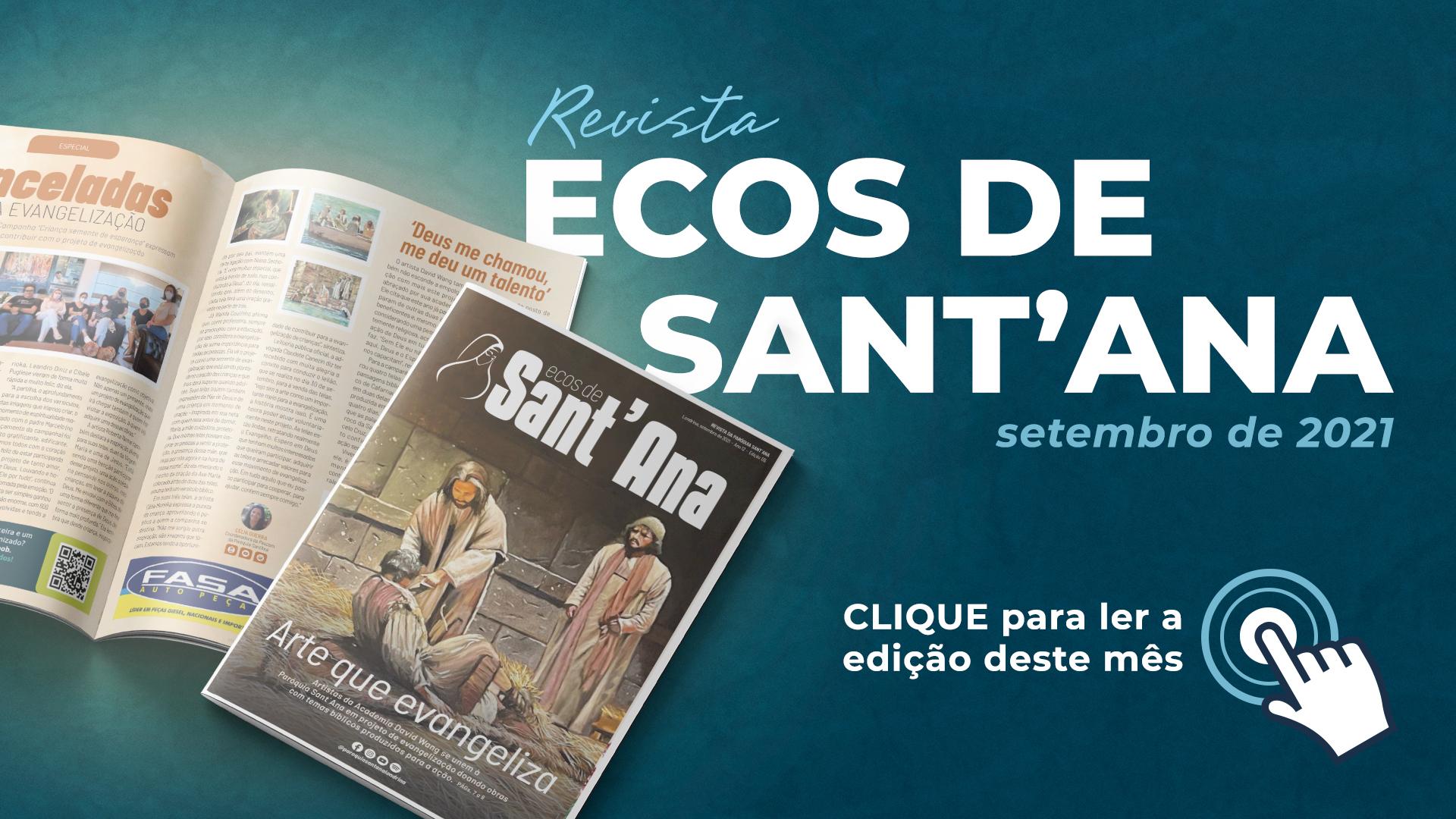 Revista Ecos de Sant'Ana - Edição Setembro